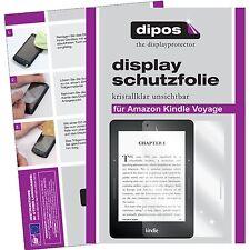 2x dipos Amazon Kindle Voyage klare Displayschutzfolie Crystalclear unsichtbar