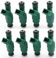 Set of 8 Fuel Injectors 42lb EV1 Fit Bosch Chevrolet Pontiac Ford TBI LT1 440cc