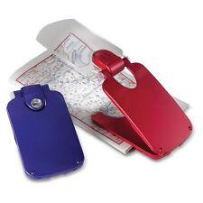 LED Blue Foldable Pocket 2X Magnifier/Book Light - 610-1144