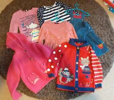 GIRLS WINTER CLOTHES BUNDLE AGE 5-6. Inc chunky cardigans, dresses & tops