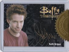 Buffy The Vampire Slayer Ultimate Collector'S Set 3 Seth Green As Oz Autograph 1