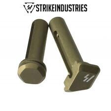 Strike Industries Ultra Light Enhanced Extended Front &Rear Pins Flat Dark Earth