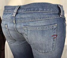Diesel Women's Medium Wash Bootcut Denim Jeans Size 28W x 30L Italy