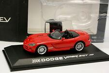 Norev 1/43 - Dodge Viper SRT 10 2006 Rot