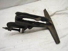 Antique Saw Vise Clamp Wood Blade Sharpening Tool Bench Mount