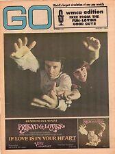 Friend & Lover The Union Gap Al Kooper Joan Baez GO Magazine WMCA Aug 9 1968