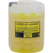 20 Liter MANNOL Kühlerfrostschutz Typ G13+ Fertiggemisch Antifreeze -40°C Gelb
