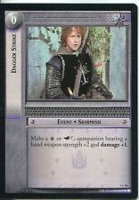 Lord Of The Rings CCG Card RotK 7.C84 Dagger Strike