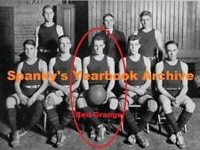 High School Yearbook with RED GRANGE ~ 1920's NFL All-Decade Team ~ Champ ~ HOF