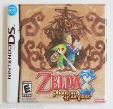 Legend of Zelda Phantom Hourglass FRIDGE MAGNET (3 x 3 inches) video game box