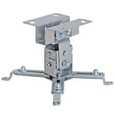 Adjustable Projector Hanger Stand Ceiling Mount Bracket Tilt Universal Silver