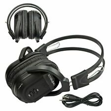 Wireless Infrared Headphones For Lincoln Vehicle DVD 2 Channel Fold In Headset