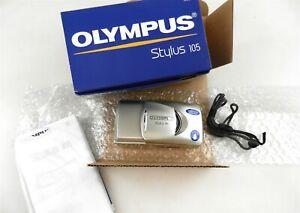 Olympus Stylus 105 35mm Camera 38-105mm 2.8x Zoom Auto Focus All Weather OB T126