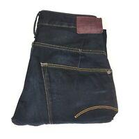 Gstar G-Star Raw Mens Type C 3D Loose Tapered Dark Blue Denim Jeans Size W29 L32