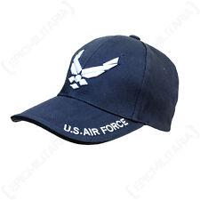 BLUE US AVIAZIONE CAPPELLINO-un picco CAPPELLO DA Stile Militare Americano Ali