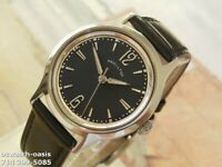 1950's Vintage HAMILTON Manual Wind, Stunning Black Dial, Serviced