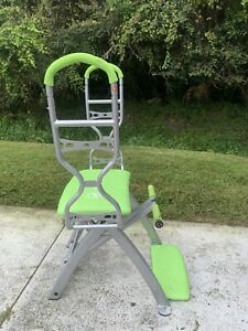 Green Life's A Beach Pilates Pro Chair with Cushioned Sculpting Handles Foldable