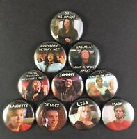 "THE ROOM 1"" PIN BUTTON lot Tommy Wiseau Drama Comedy"