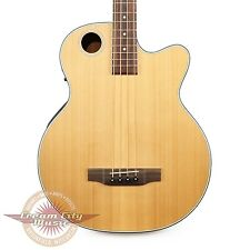 Brand New Boulder Creek EBR3-N4 Solitaire 4 String Cedar Acoustic Electric Bass