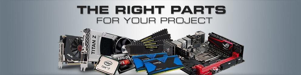 Computer parts wholesaler