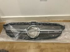 Mercedes W205 C Class AMG C63 Style Gloss Black grill