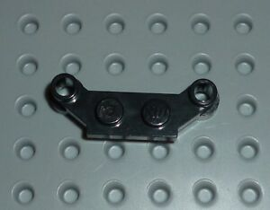 LEGO - PLATE, Modified 1 x 4 Offset, BLACK x 6 (4590) PM215