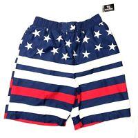 12//14 Mesh Liner Size: L Boy/'s Striped Swim Trunks by OT Revolution