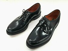 FLORSHEIM MENS LEATHER SHOES FORMAL DRESS BLACK WORK SIZE 7 2E10