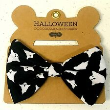 New listing Mud Pie Halloween Dog Collar Accessories: Ghost Bowtie