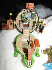Vintage Teenage Mutant Ninja Turtles Rafeal 1994 Sewer Lair Micro Playset RARE
