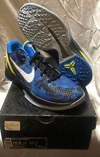 Nike Zoom Kobe VI 6 Camo size 10.5 Photo Blue Black Volt White Poison Dart Frog