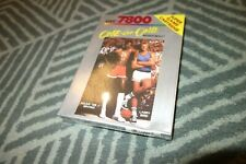 1987 ATARI 7800 GAME - ONE ON ONE BASKETBALL - FACTORY SEALED & NEW