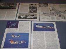 VINTAGE..SHIN MEIWA US-1 FLYING BOAT..DETAILS/3-VIEWS/SPECS/CUTAWAY.RARE! (131F)