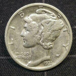 1931 D Mercury Head Dime