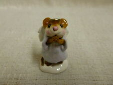 Wee Forest Folk Ice Angel Lavender M-212 Christmas Retired Mouse