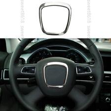Aluminium Steering Wheel Center Frame Cover trim Granish For Audi A4 B7 B8 06-12