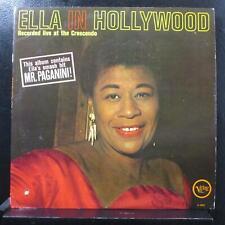 Ella Fitzgerald - Ella In Hollywood LP Mint- V-4052 Mono 1st 1961 Vinyl Record