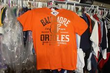 Baltimore Orioles T-Shirt Large (42-44) NWT Orange