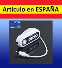 TRANSMISOR FM 4 canales para coche cargador iPod mp3 mp4 PDA reproductor radio