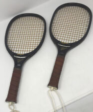 2 Vintage Wood Regent The National Racquetball Racquet Leather Grip Model 22679