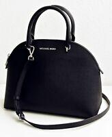 Michael Kors tasche handtasche emmy lg dome satchel black  neu 35t9sy3s3l