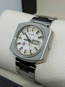 VINTAGE RADO SPACEWING DAY DATE AUTO MAN'S WATCH SWISS Cal.1859