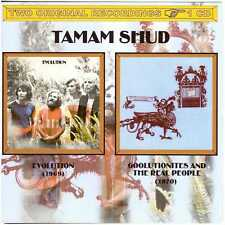 TAMAM SHUD Evolution + Goolutionites and the Real People CD Oz Hard/Psych/Prog