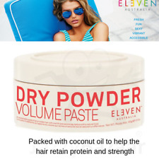 ELEVEN Dry Powder Volume Paste 85g Packet with Coconut Oil Hair Care Vegan