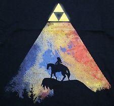 """""""Legendary View"""" Link Zelda Epona Triforce Men's Small Shirt Shirtpunch"""