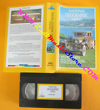 VHS film ANTIQUARIA 1990 NATIONAL GEOGRAPHIC VIDEO NGH 1053 (F119) no dvd