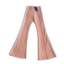 NWT $70 Adidas Originals Flared Track Pants Women's Sz XS Dusk Pink DV2619