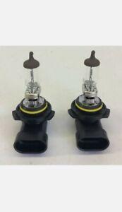 2 New OEM Sylvania HB4 9006 Clear Halogen Headlight Bulbs Lights Pair