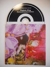 VIRGINIA WING : FORWARD CONSTANT MOTION ♦ CD ALBUM PORT GRATUIT ♦