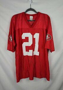 NFL Team Apparel San Francisco 49ers #21 Gore Jersey sz XL
